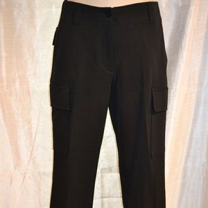 EUC THEORY BLACK STRETCH MID RISE PANT SIZE 2